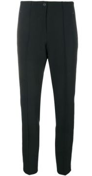 Side Stripe Cigarette Trousers - Cambio