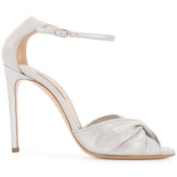 Twisted Front Sandals - Casadei