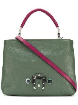 Contrast Panel Shoulder Bag  - Paula Cademartori