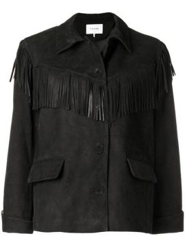 Fringe Button Jacket - Frame Denim