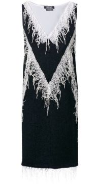 Embellished Flared Midi Dress - Calvin Klein 205w39nyc