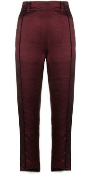 Cropped Tailored Trousers - Ann Demeulemeester