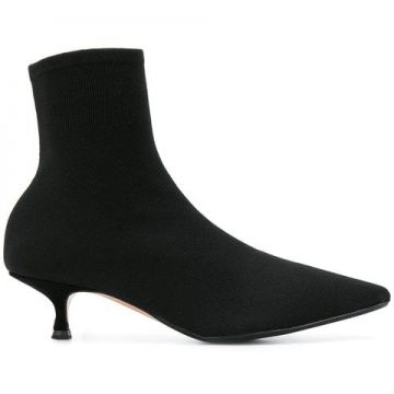 Pointed Ankle Boots - Anna F.