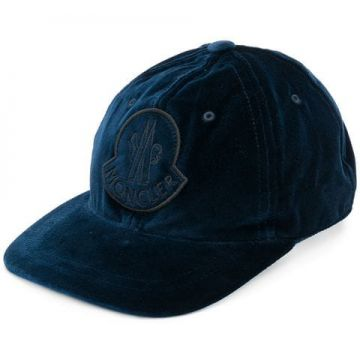 Front Logopatched Cap - Moncler
