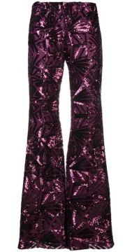70s Disco Flared Trousers - P.a.r.o.s.h.