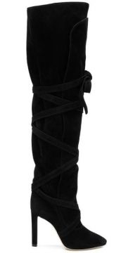 Over The Knee Boots - Saint Laurent
