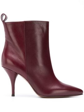 Pointed Toe Ankle Boots - Lautre Chose