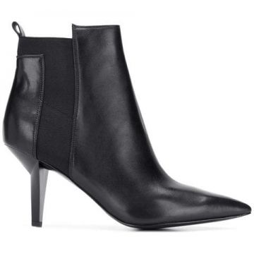 Ankle Boot De Couro  - Kendall+kylie