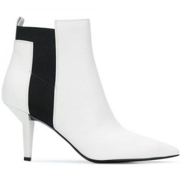Ankle Boot viva De Couro  - Kendall+kylie