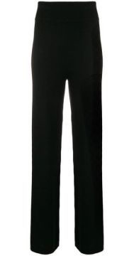 Cashmere Blend Side Stripe Track Pants - Cashmere In Love