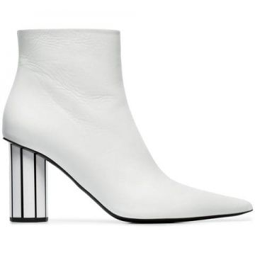 Ankle Boot Em Couro - Proenza Schouler
