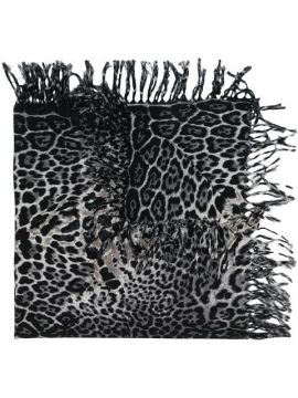 Cachecol Animal Print - Saint Laurent