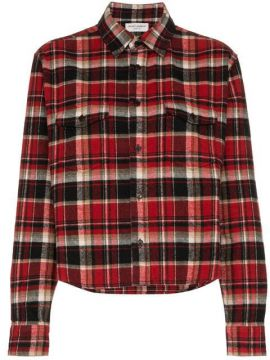 Camisa Xadrez - Saint Laurent