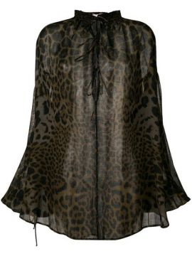Leopard Print Blouse - Saint Laurent