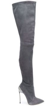 Techno Blade Over-the-knee Boots - Casadei