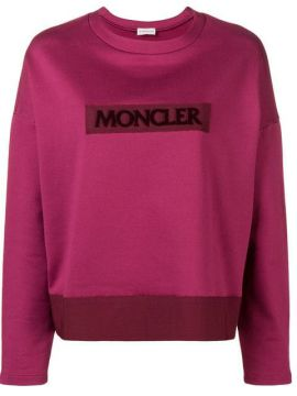 Logo Patch Sweatshirt - Moncler