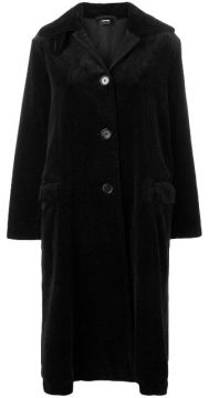 Single-breasted Corduroy Coat - Aspesi