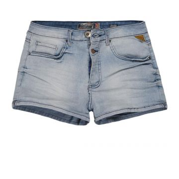 SHORT JEANS STRETCH CINTURA ALTA