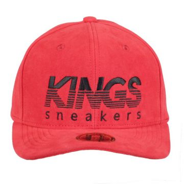 Boné Kings Aba Curve Prm Sty Nobuck | Red