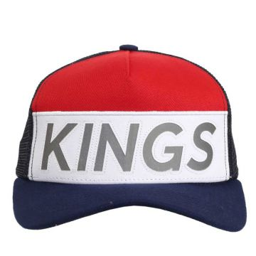 Boné Kings Aba Curva Usa Trucker