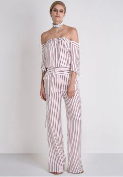 MACACAO ALISSA RED STRIPES - Loft 747