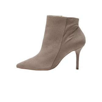 ANKLE BOOT SUEDE BICO CINZA - TVZ