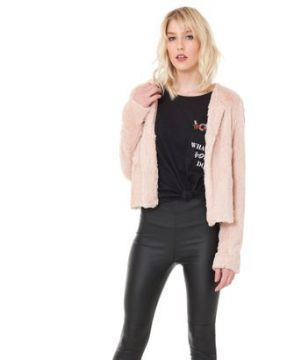BLAZER LIGHT PINK FUR - TVZ