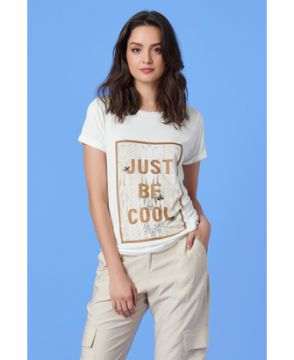 T-shirt Just Be Cool - Tvz
