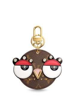 Chaveiro e charm de bolsa Animal Faces