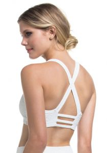 Top Strappy Texturizado Fit Branco Marcyn | 524.8010
