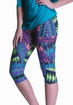Legging Curta Estampada Multi Marcyn | 506.819