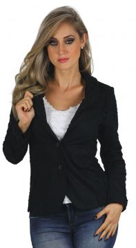 Blazer Recorte Renda Planet Girls