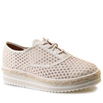 Oxford Flatform Vizzano 1241.102 Cru/off White