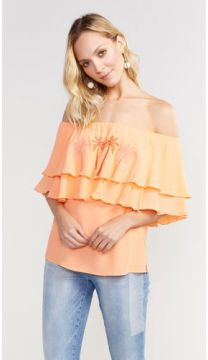 BLUSA BATA PLANO SHOULDER