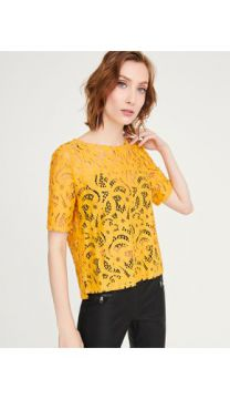 T-SHIRT RENDA SHOULDER