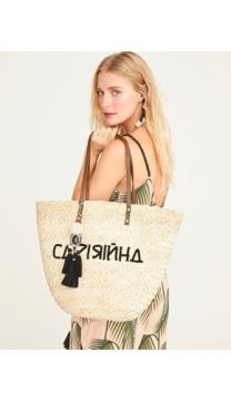 BOLSA PALHA BORDADA-NATURAL-UN SHOULDER