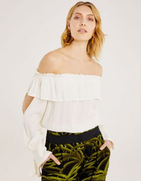 Blusa Cigana Off Shoulder
