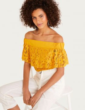 Blusa Cigana Renda - Shoulder