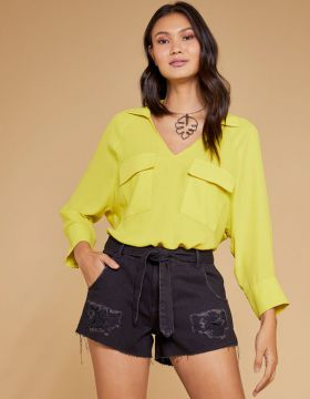 Short Jeans Black - Shoulder