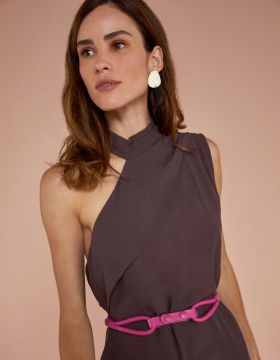 Cinto Fino Pink - Shoulder