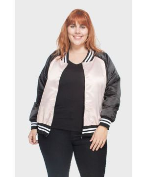 Jaqueta Bomber Whatever Plus Size