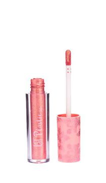 gloss labial plastic 3x1 bt golden peach - bruna tavares ún