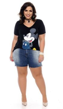 Short Jeans Plus Size Ecleya