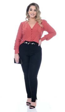 Blusa Plus Size Effie