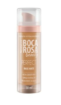 Base Líquida Matte HD 30ml 4 Antonia - Boca Rosa Beauty by