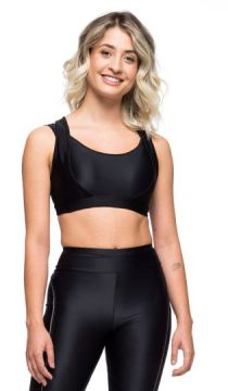 Top Fitness Compression - Preto