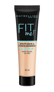 Base Líquida Maybelline Fit Me! - N80 Único