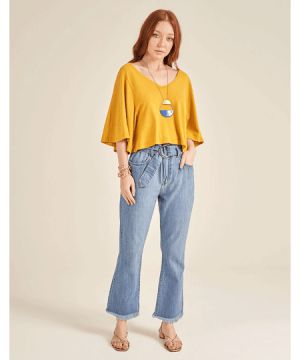 Blusa Cropped Color