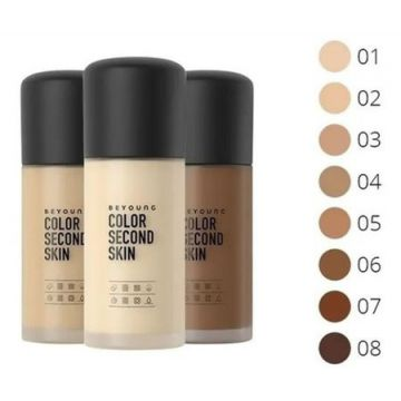 Base Beyoung Color Second Skin 30g Cor 08