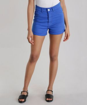 Short Hot Pant Azul